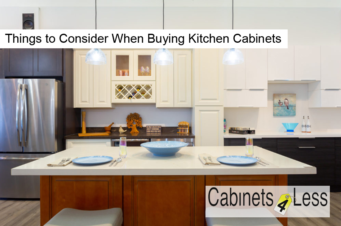 Things to Consider When Buying Kitchen Cabinets