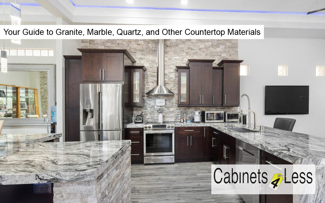 Your Guide to Granite, Marble, Quartz, and Other Countertop Materials