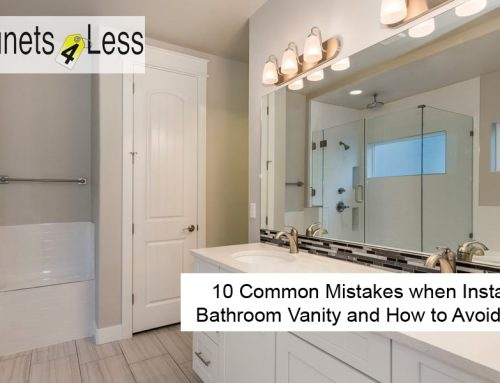 10 Common Mistakes when Installing a Bathroom Vanity and How to Avoid Them
