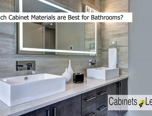 Which Cabinet Materials are Best for Bathrooms?